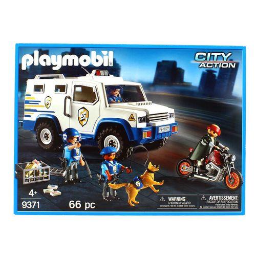 Playmobil City Action Vehículo Blindado