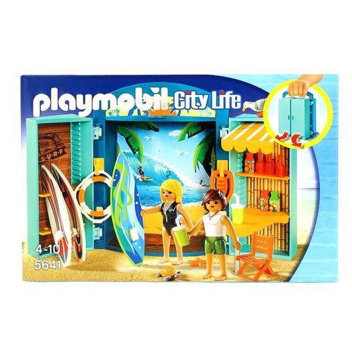 Playmobil City Life Cofre Tienda de Surf