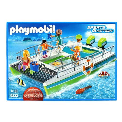 Playmobil Sports & Action Barco Vistas del Fondo Marino con Motor