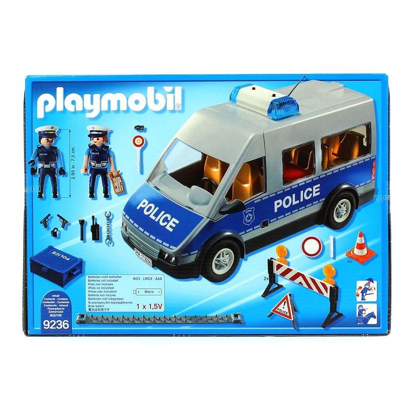 Playmobil-City-Action-Furgon-de-Policia-con-Control-de-Trafico_2