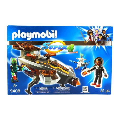 Playmobil Super 4 Gene y Sykroniano con Nave