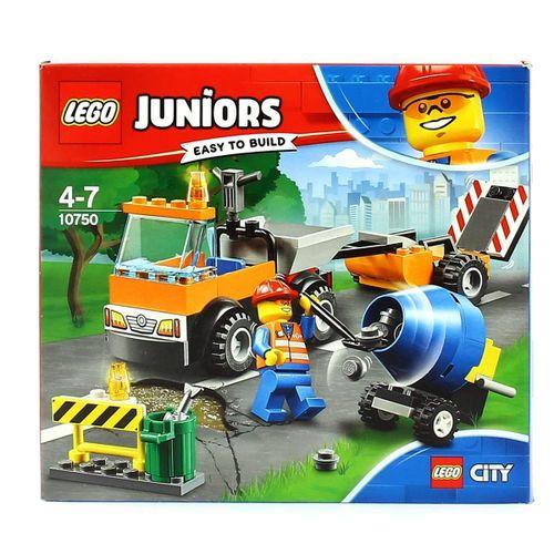 Lego Juniors Camión de Obras en Carretera