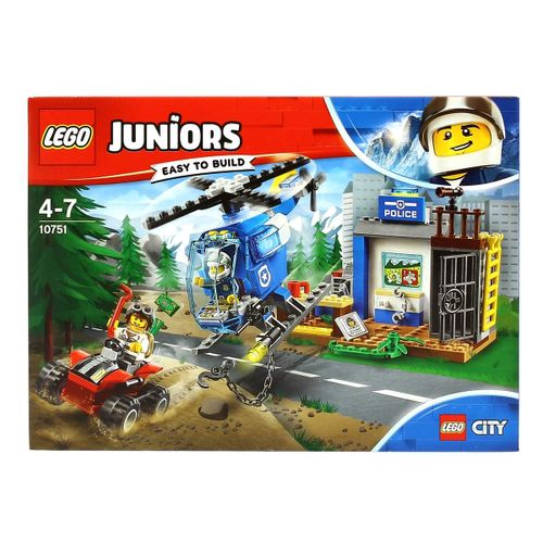 Lego Junior Persecución Policial en la Montaña