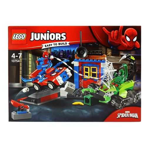 Lego Juniors Spider-Man VS Escorpión: Batalla Callejera