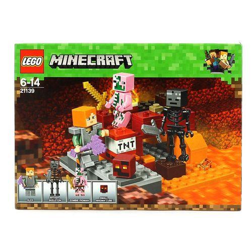 Lego Minecraft El Combate en el Infierno