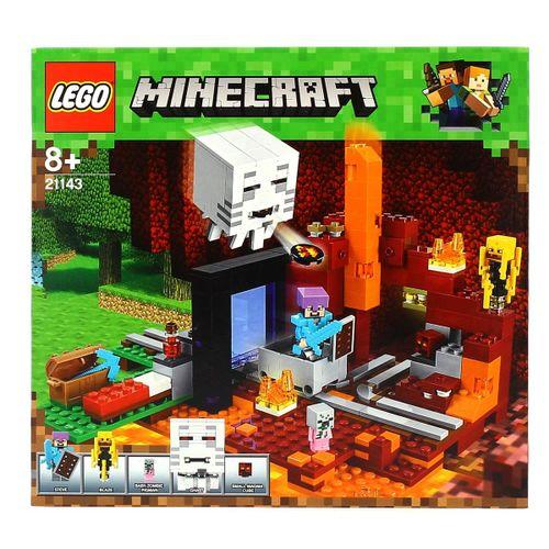 Lego Minecraft El Portal al Infierno
