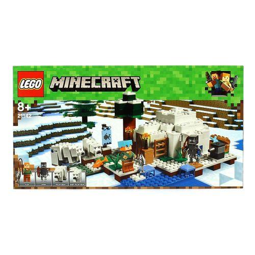 Lego Minecraft El Iglú Polar