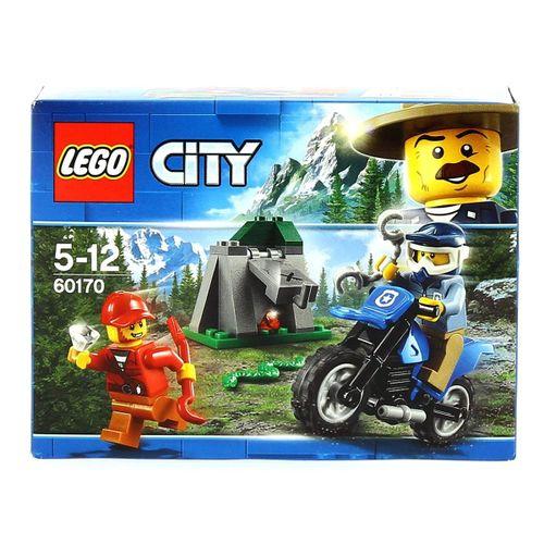 Lego City Persecución a Campo Abierto