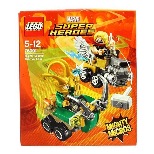 Lego Marvel Super Heroes Thor VS Loki