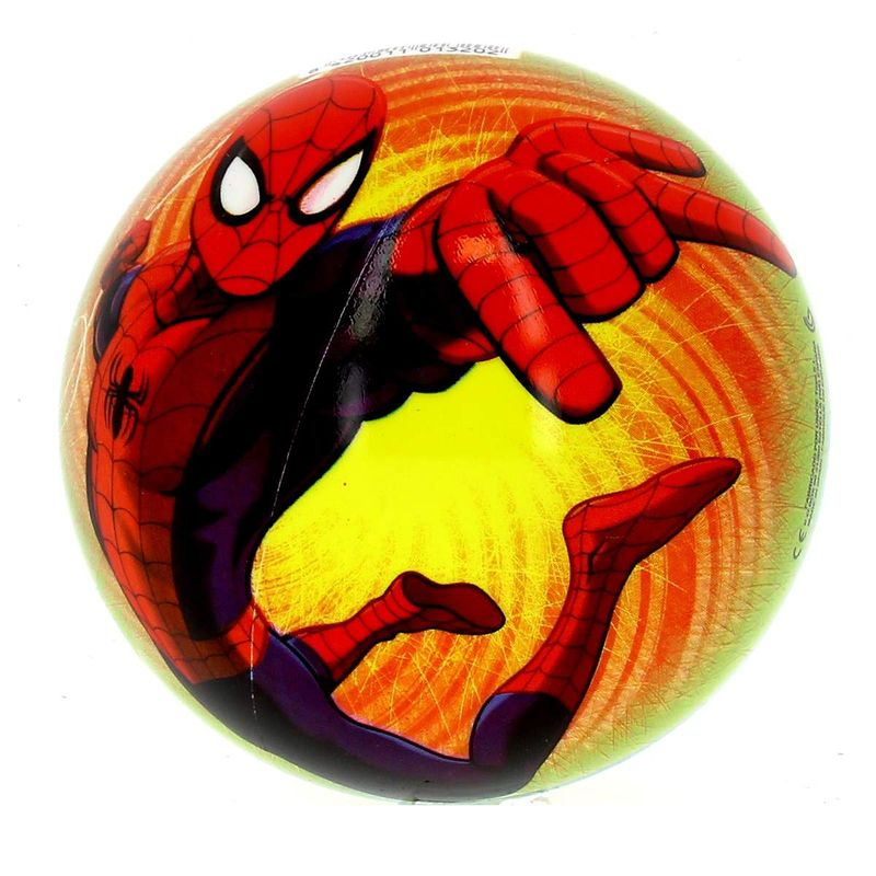 Spiderman-Ultimate-Pelota-Amarilla-de-15-cm_1