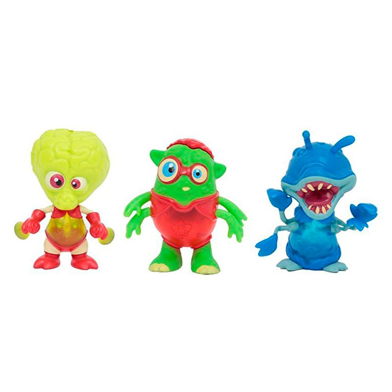 Exogini-Pack-3-Aliens-con-Nerdy-Ned