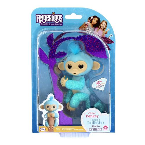 Fingerlings Purpurina Turquesa