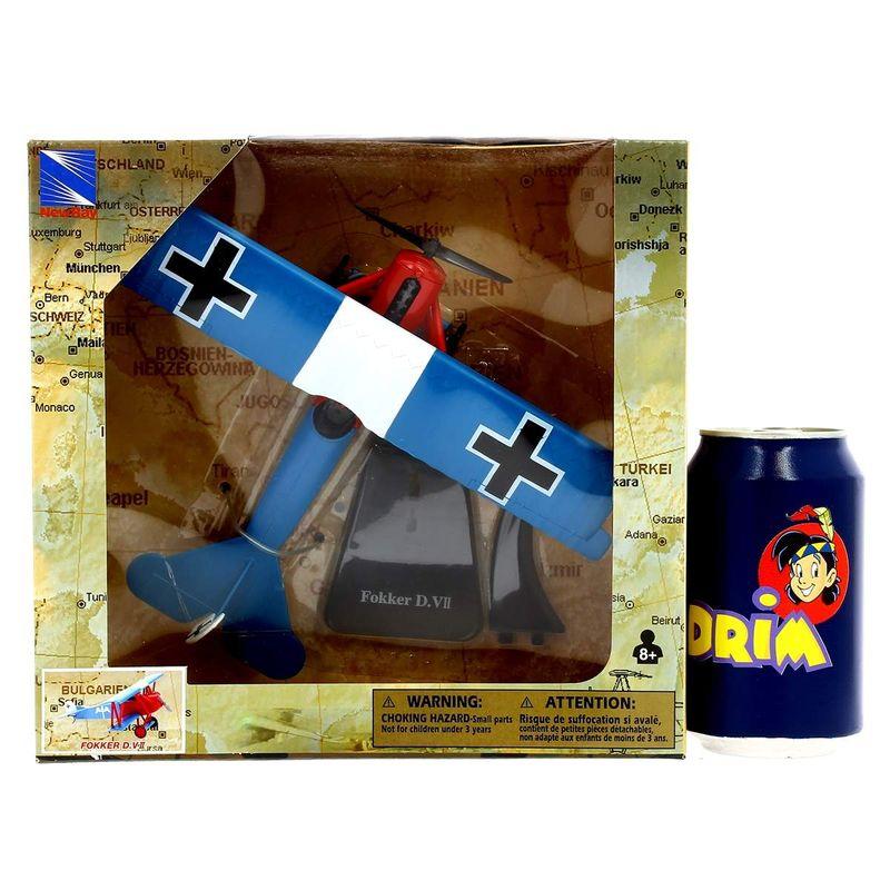 Avion-Bombardero-con-peana-Fokker-DVII-Escala-1-48_2