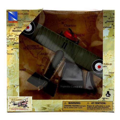 Avión Bombardero con peana Sopwith a  Escala 1:48