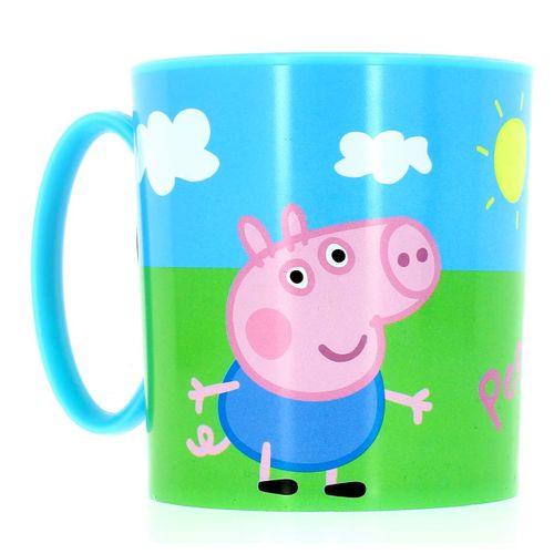 Taza Para Microondas Peppa Pig