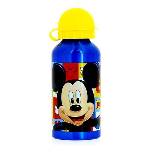 Botella de Aluminio 400 Ml Mickey