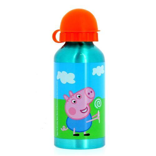 Peppa Pig Botella de Aluminio 400 Ml