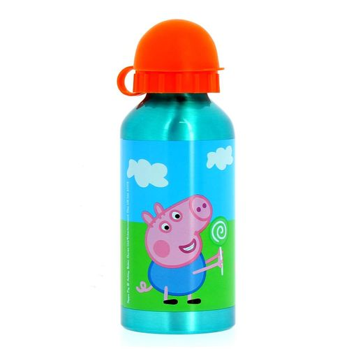 Peppa Pig Botella de Aluminio 400 Ml