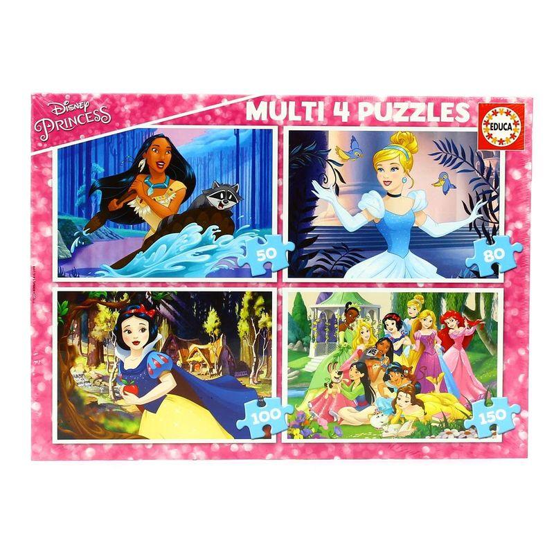 Princesas-Disney-4-Multi-Puzzles