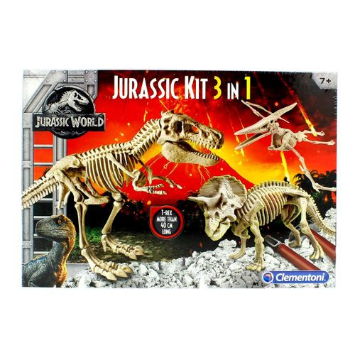 Jurassic World Kit 3 en 1