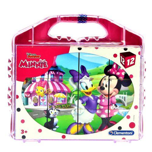 Minnie Mouse Cubos 12 Piezas
