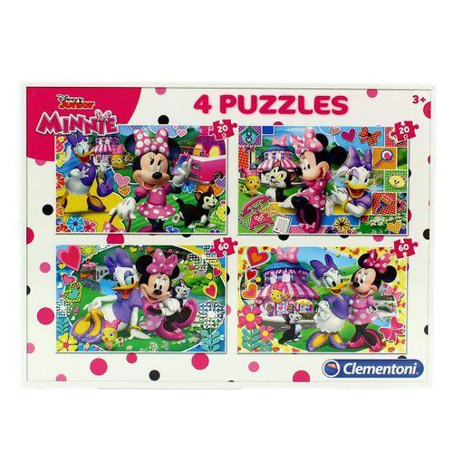 Minnie Mouse Puzzles 2x20 2x60 Piezas