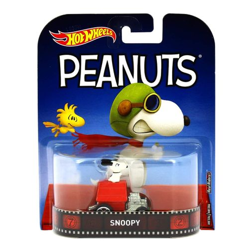 Hot Wheels Vehículo Retro Snoopy