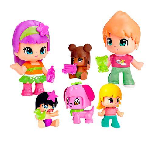 Pinypon Pack Bebés y Figuras