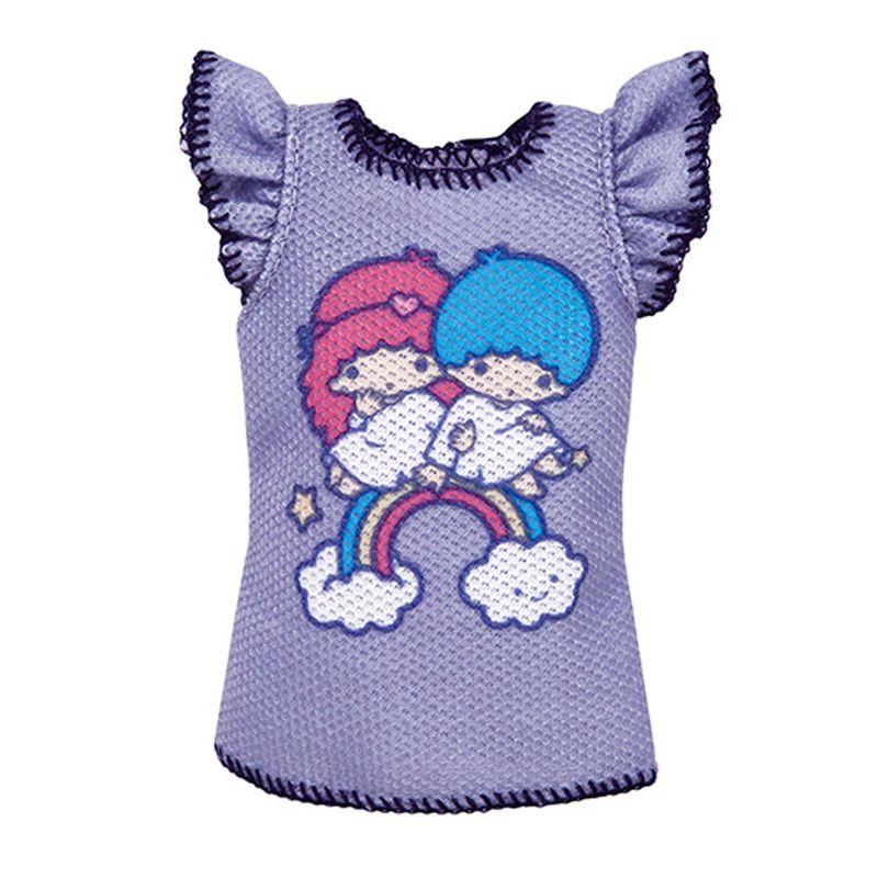 Barbie-Moda-Camiseta-Hello-Kitty-Little-Twin-Stars