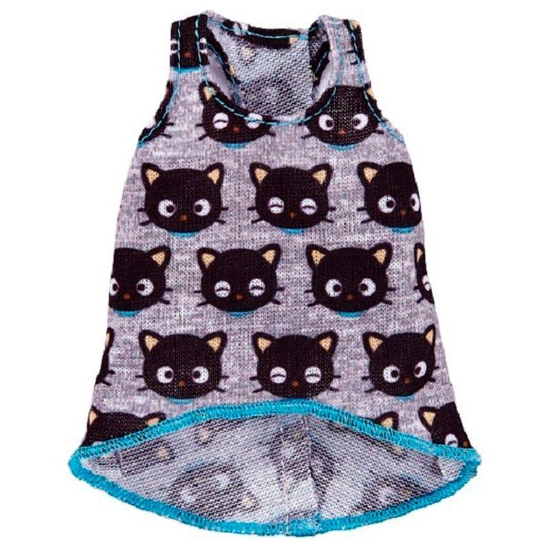 Barbie-Moda-Camiseta-Hello-Kitty-Chococat