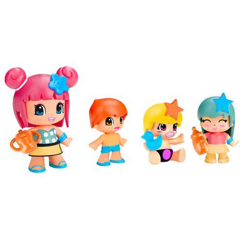 Pinypon Bebés y Figuras Pack 4