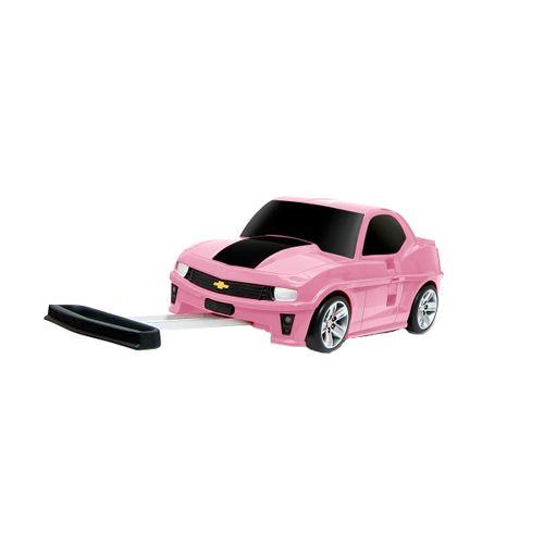 Maleta Infantil Chevrolet Camaro Rosa
