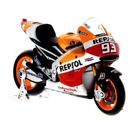 Moto Miniatura Honda RC213V'14 Repsol Marquez Escala 1:18