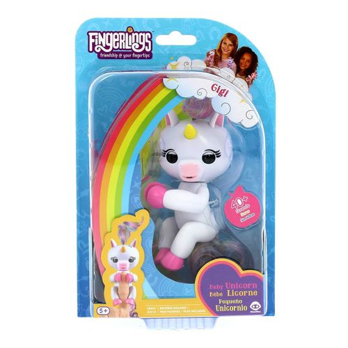Fingerling Unicornio Blanco