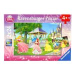 Las-Princesas-Disney-Puzzle-2-x-24-Piezas