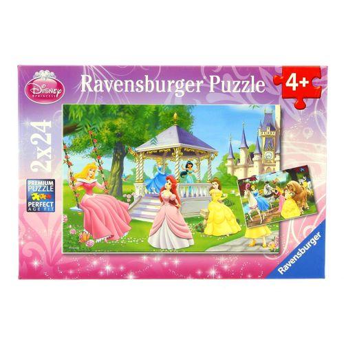 Las Princesas Disney Puzzle 2 x 24 Piezas