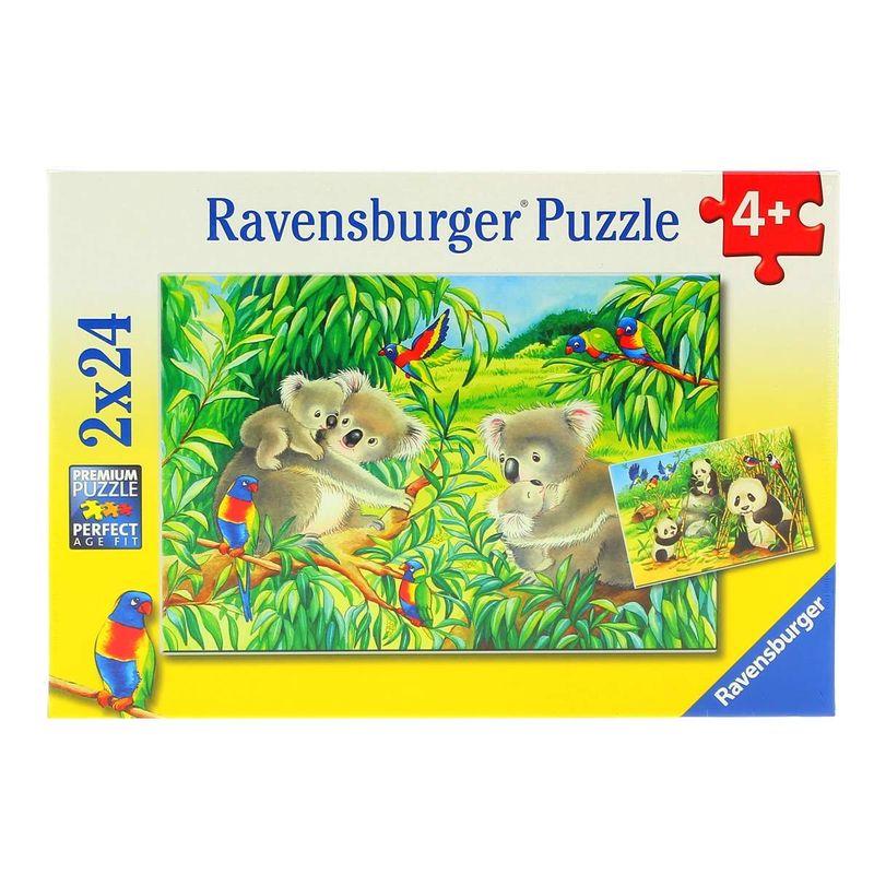 Puzzle-Koala-y-Panda-2-x-24-Piezas