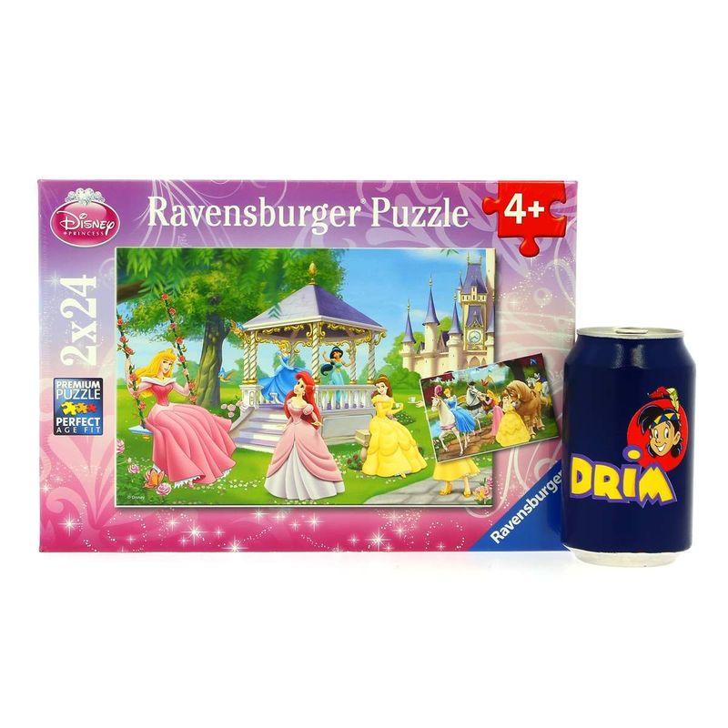 Las-Princesas-Disney-Puzzle-2-x-24-Piezas_2
