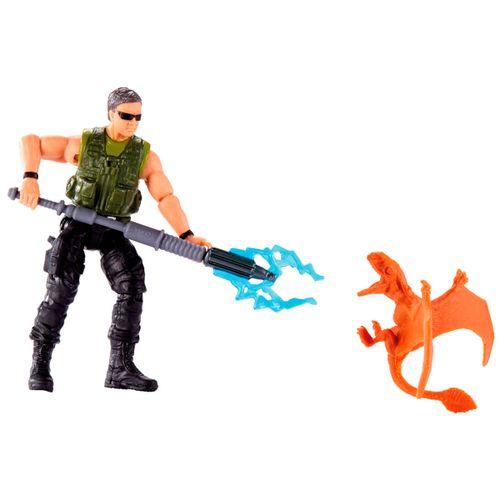 Jurassic World Figura Mercenario & Dimorfodon