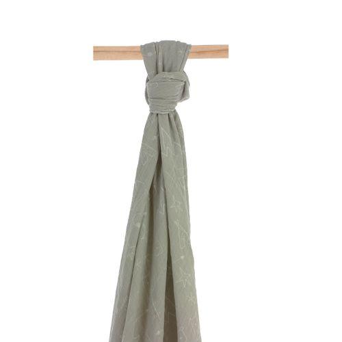 Muselina Bambú 120x120 cm Tipi Blanco