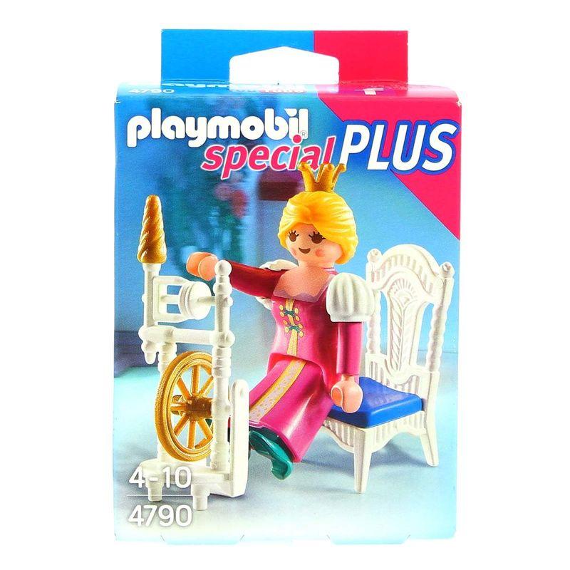 Playmobil-Princesa-con-Rueca-de-Hilar