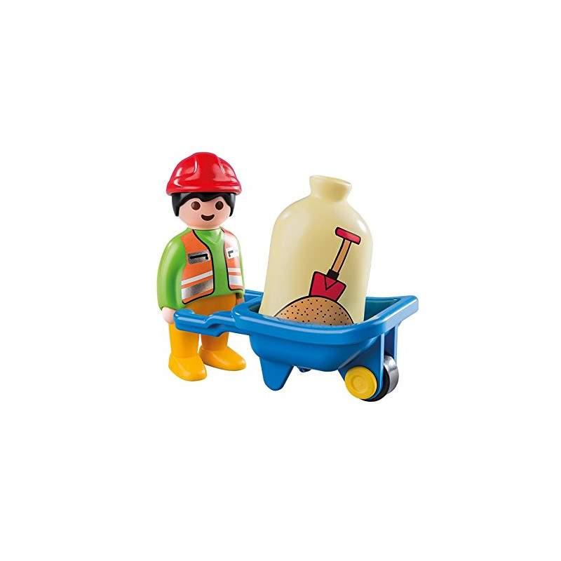 Playmobil-123-Trabajador-con-Carretilla_1