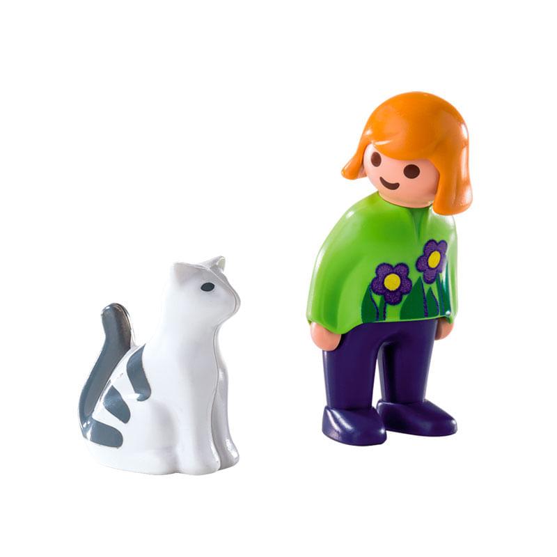Playmobil-123-Mujer-con-Gato_1