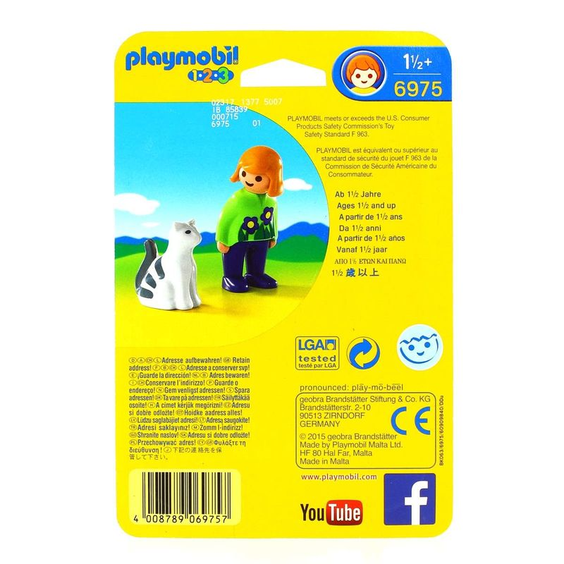 Playmobil-123-Mujer-con-Gato_2
