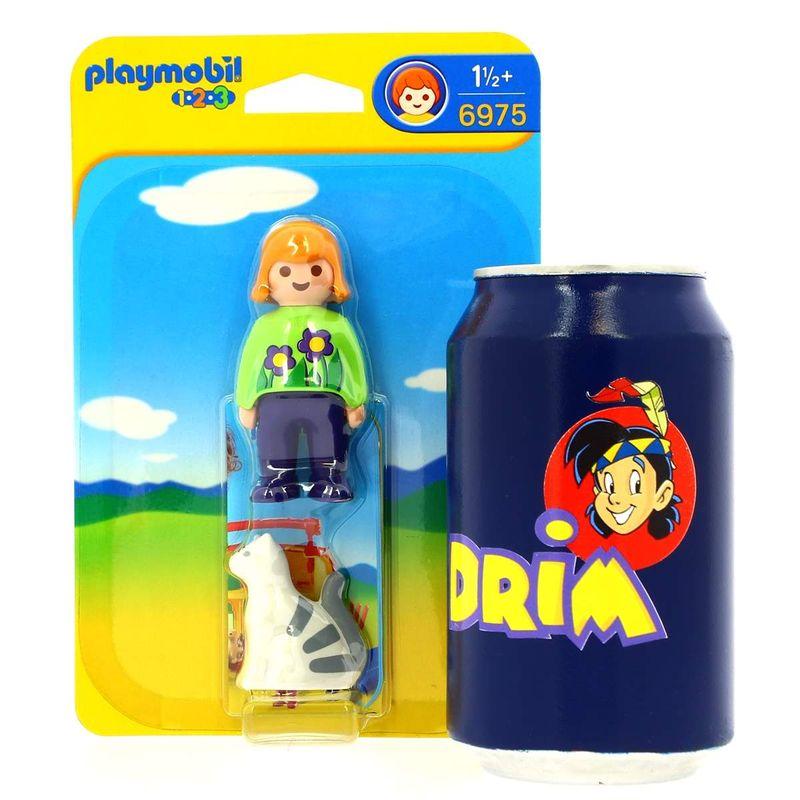 Playmobil-123-Mujer-con-Gato_3