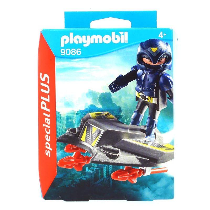 Playmobil-Special-Plus-Espia-con-Jet