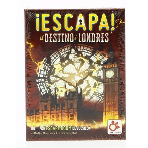 Juego Escape Destino Londres
