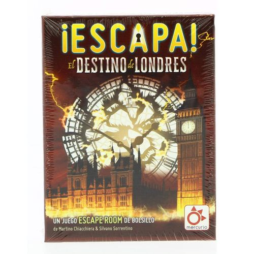 Juego Escape Destino Londres