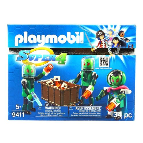 Playmobil Super 4 Los Sykronianos