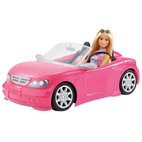 Barbie y su Descapotable